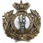 18th Royal Hussars Victorian Bi Metal Cap Badge