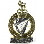 Queens Royal Irish Hussars Bi Metal Pouch Badge