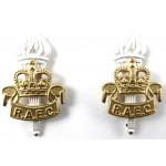 Royal Army Educational Corps Officers Collar Badges