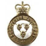 Shropshire Yeomanry Officers Gilt Collar Badge