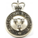 Shropshire Yeomanry Anodised Aluminium Collar Badge