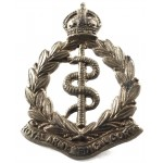 Royal Army Medical Corps Brass Collar Badge1902-50