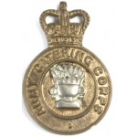 Army Catering Corps Bi Metal Collar Badge