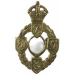 Royal Electrical & Mechanical Engineers Brass Collar Badge