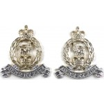 Adjutant General`s Corps Anodised Aluminium Collar Badges