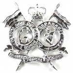 16/5th Lancers Anodised Aluminium Collar Badges
