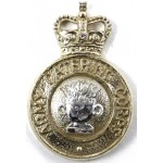 Army Catering Corps Anodised Aluminium Collar Badge