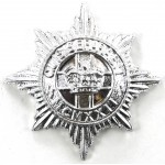 4/7th Dragoon Guards Anodised Aluminium Collar Badge