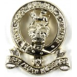 14/20th Hussars Anodised Aluminium Collar Badge
