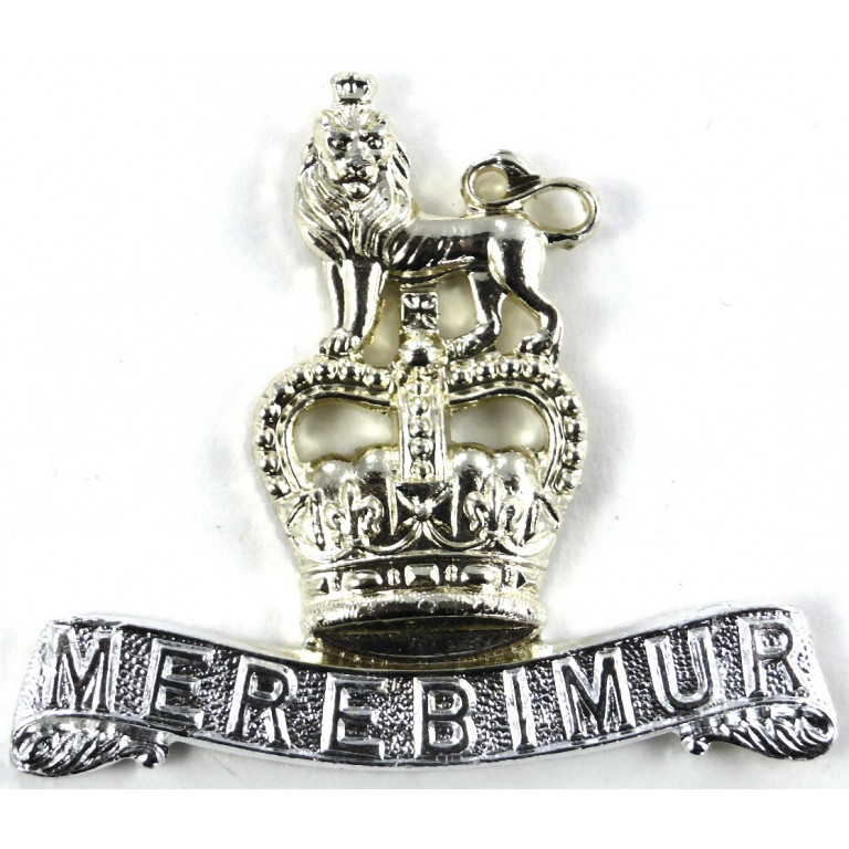 15/19th Hussars Anodised Aluminium Collar Badge