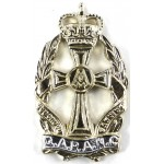 Q.A.R.A.N.C. Anodised Aluminium Collar Badge