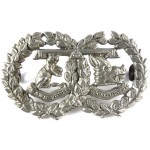 Argyll & Sutherland Highlanders White Metal Collar Badge