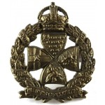 Inns Of Court Regiment Brass Collar Badge