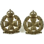 Inns Of Court OTC Brass Collar Badges