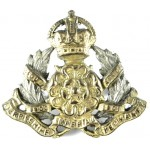 Derbyshire Imperial Yeomanry Officers Silver/Gilt Plated Collar Badge
