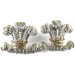 10th Hussars And Royal Hussars Anodised Aluminium Collar Badges