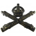 Machine Gun Corps Officers Bronze Collar Badge