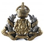Derbyshire Yeomanry Officers Silver/Gilt Plated Collar Badge