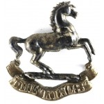 Kings Liverpool Regiment  Silver/Gilt Plated Collar Badge 40mm Tall
