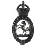 Royal East Kent Yeomanry Officers Bronze Collar Badge