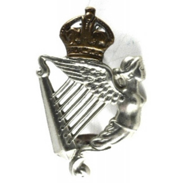 8th Kings Royal Irish Hussars Bi Metal Collar Badge Pre 1953