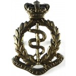Royal Army Medical Corps Victorian Brass Cap Badge