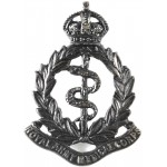 Royal Army Medical Corps Officers Bronze Cap Badge