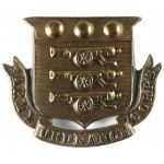 Army Ordnance Corps Victorian Brass Cap Badge