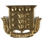 Army Ordnance Corps Brass Cap Badge Pre 1919