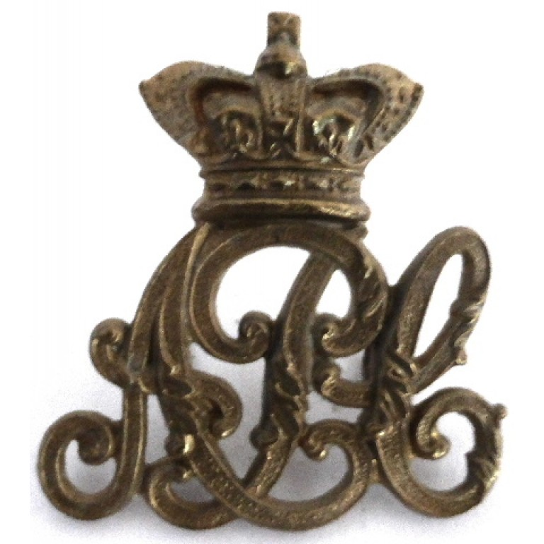 Army Pay Corps Victorian Brass Cap Badge