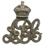 Army Pay Corps Brass Cap Badge