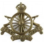Army Cyclist Corps Brass Cap Badge 16 Spokes