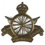 Army Cyclist Corps Brass Cap Badge 12 Spokes