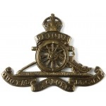 Royal Artillery Brass Beret Badge Pre 1953