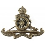 Royal Artillery Officers Brass Beret Badge