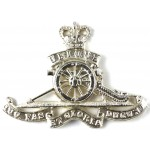 Royal Artillery E11R Anodised Aluminium Cap Badge