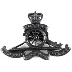 Royal Artillery Officers Bronze Cap Badge Post 1953