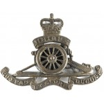 Royal Artillery E11R Brass Cap Badge Applied Wheel