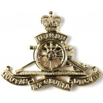 Royal Artillery E11R Brass Beret Badge