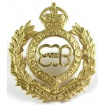 Royal Engineers EDV111R Officers Gilt Cap Badge