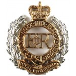 Royal Engineers E11R Bi Metal Cap Badge