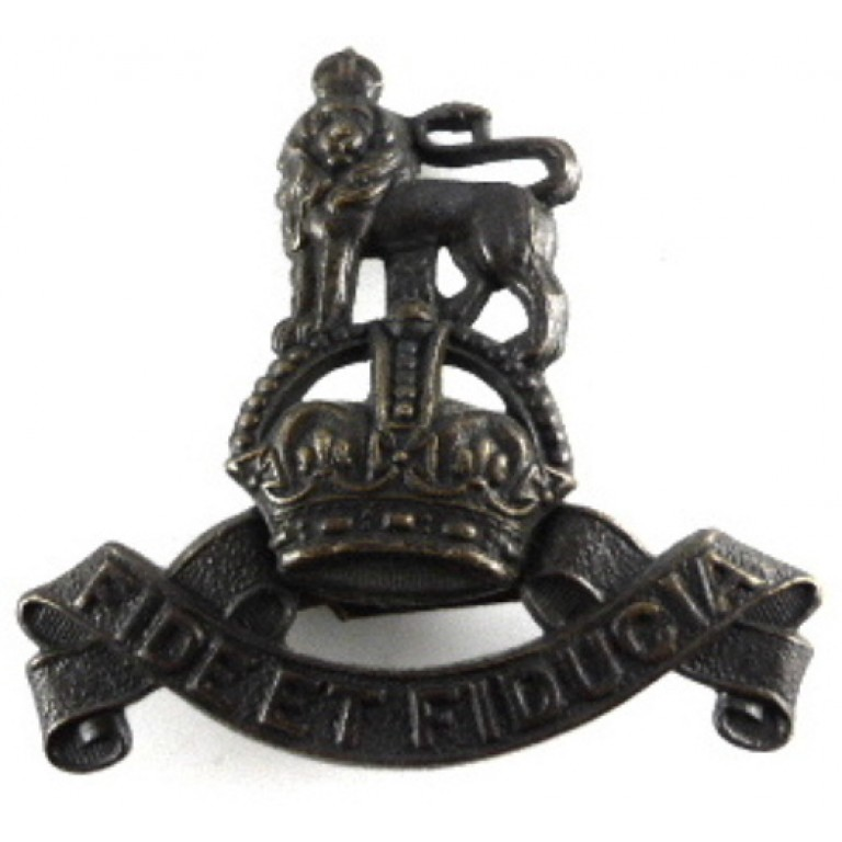 Royal Army Pay Corps Officers Bronze Cap Badge