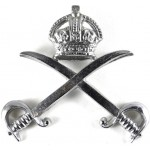 Army Physical Training Corps Chrome Cap Badge