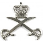 Army Physical Training Corps White Metal Cap Badge