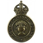 Army Catering Corps All Brass Cap Badge