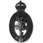 Royal Corps Of Signals WW2 Plastic Cap Badge