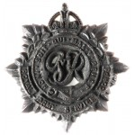 Royal Army Service Corps WW2 Plastic Cap Badge