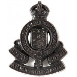 Royal Army Ordnance Corps WW 2 Plastic Cap Badge