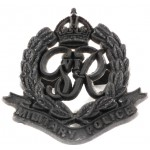 Military Police WW2 Plastic Economy Cap Badge