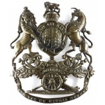Royal Artillery Post 1902 Brass Helmet Badge